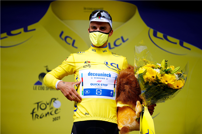 Tid til anden etape i Tour de France