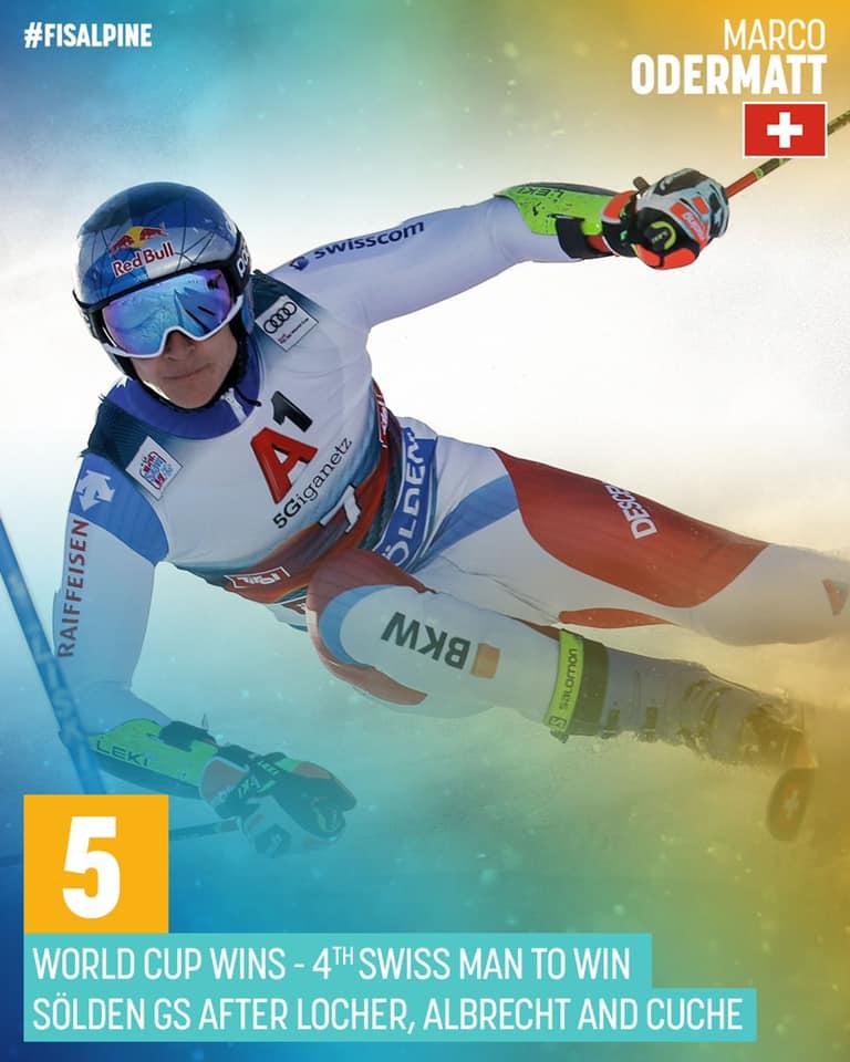 Alpin World Cup sejr til Odermatt